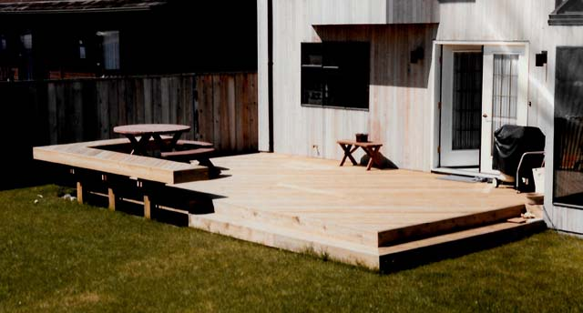 Deck and Bench