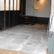Garage under renovation
